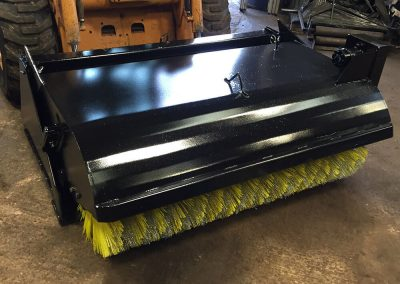 Manufactured Bucket Brushes by Curtis Contractors